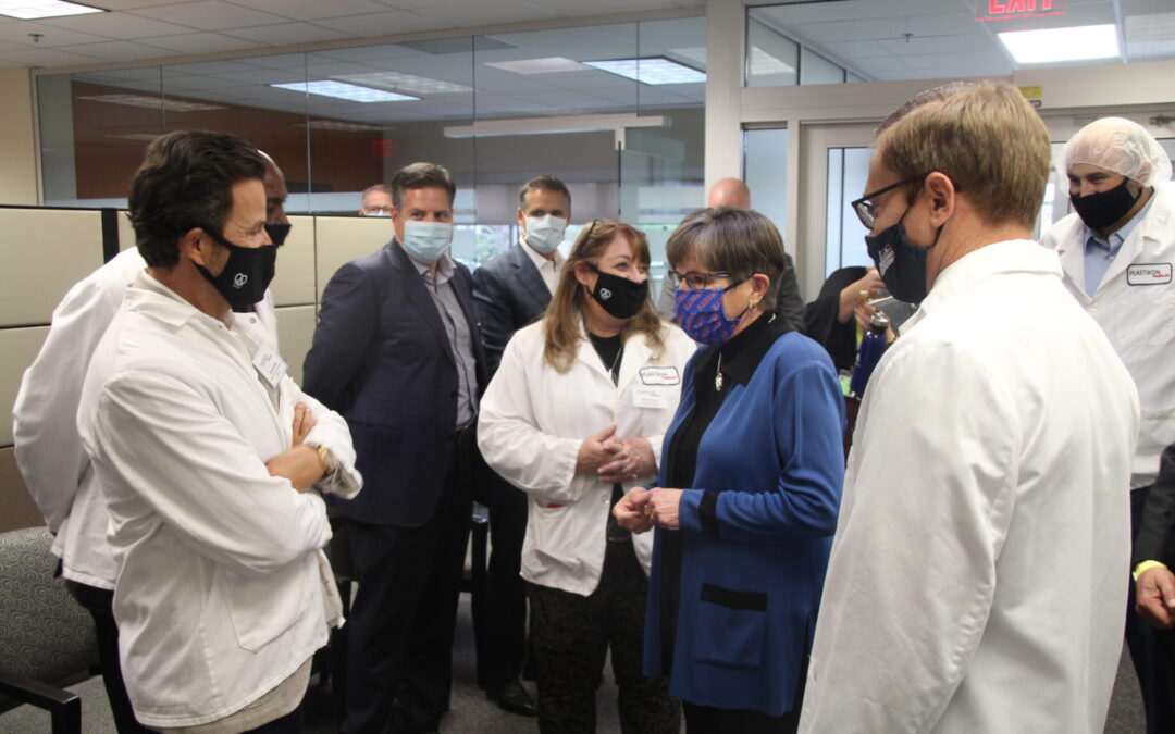 Plastikon announces new jobs, expansion in Lawrence with additional production of COVID-19 testing supplies