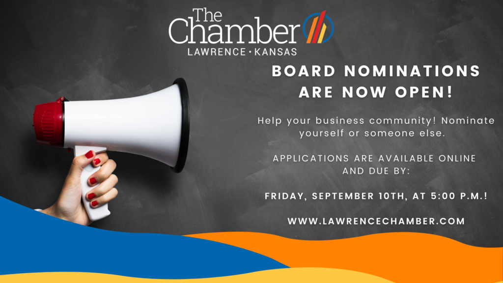 Chamber Board Nominations for 2022 Now Open