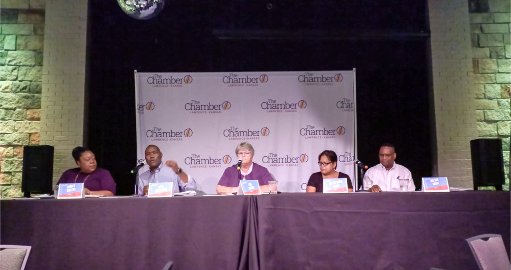The Chamber hosts City Commission Candidate Forum